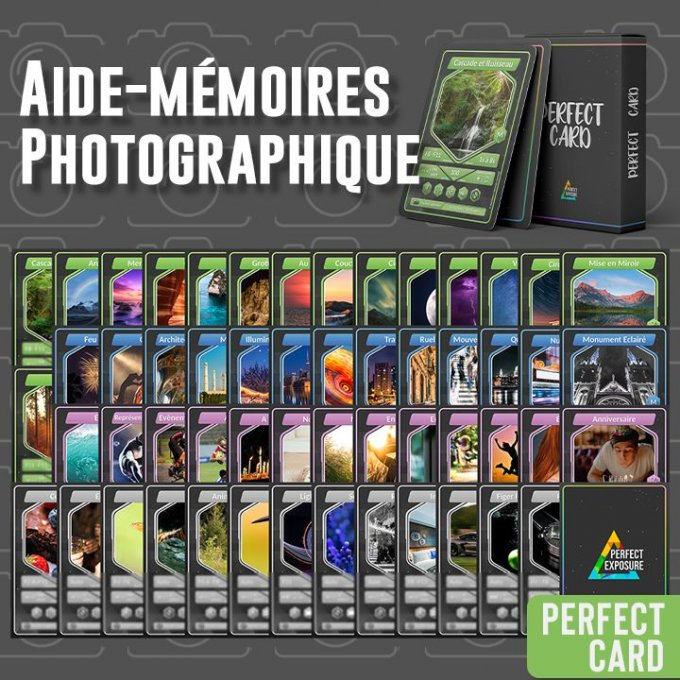 Aide-Mémoires de Photographie - PERFECT CARD